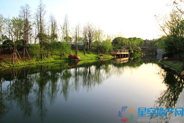 远洋香奈河畔实景图
