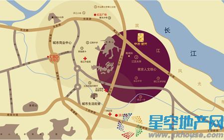 中冶·蓝湾交通图