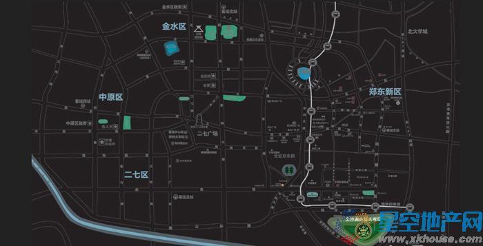 金沙湖高尔夫观邸交通图