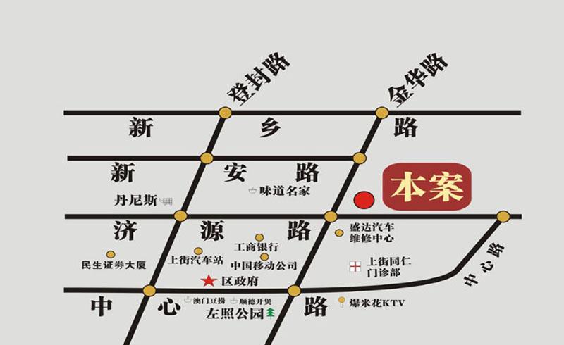 龙吟世家交通图