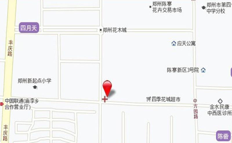 盛润小城之春交通图