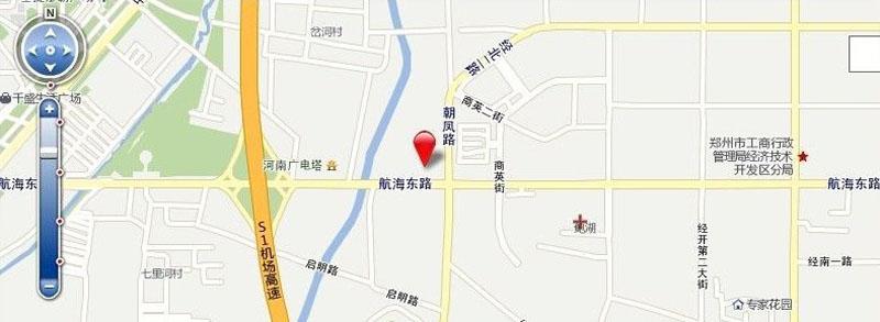 亚太时代广场交通图