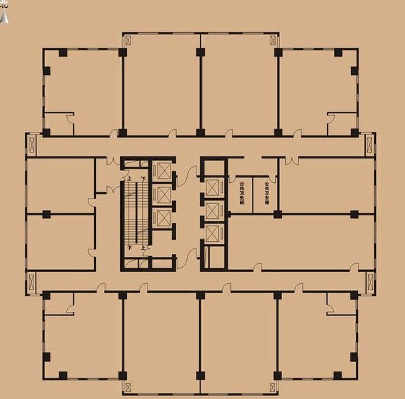 亚太时代广场楼号图