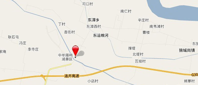 绿城雁鸣湖玫瑰园交通图