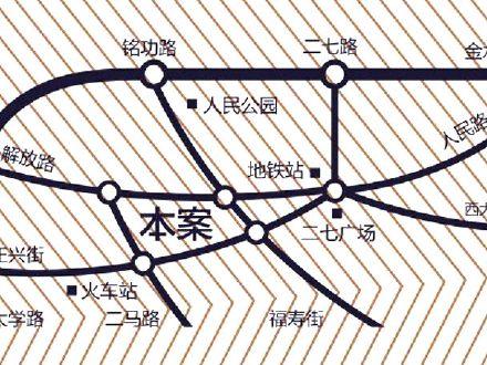 正弘凯宾城交通图